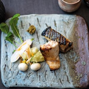 Grilled Spanish Mackerel with Miso and Soy - Chef Recipe by Tetsuya Wakuda