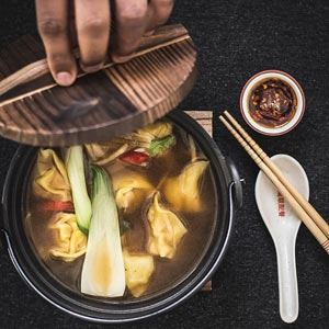 Chicken Wonton Soup - Recipe by The Spice Adventuress