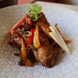 Kung Pao Chicken Ribs - Chef Recipe by James Wu