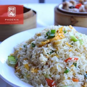 Vegetarian Fried Rice - Chef Recipe by Jin Ming Shu