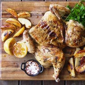 Spiced Flattened Chicken - Chef Recipe by Julie Goodwin