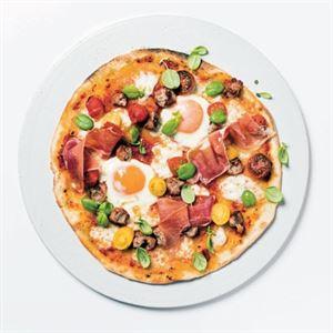 Breakfast Pizza - Chef Recipe by Darren Purchese