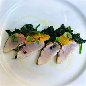 Hiramasa Kingfish Tataki - Chef Recipe by Francesco D'Aurai, Alessio Narduzzi and Marco Di Giovanni