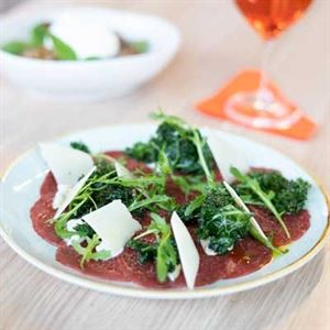 Carpaccio Rucola and Parmigiano - Chef Recipe by Fabio Stefanelli