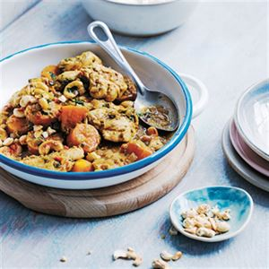 Chicken, Cashew and Carrot Curry - Chef Recipe by Ross Dobson