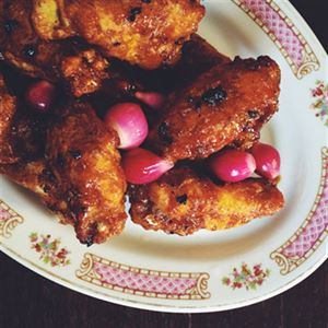 Truffle Honey Fried Chicken - Chef Recipe by Amy Hamilton