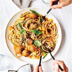 Spaghetti 'N' More Meatballs