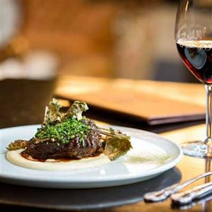Braised Cape Grim Beef Cheeks with Cauliflower Puree - Chef Recipe by Andrew Braham