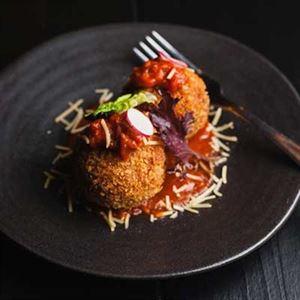 Kimchi Arancini - Chef Recipe by Seth Park