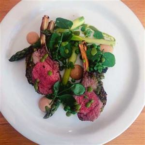 Lamb and Peas - Chef Recipe by Dan Mulheron