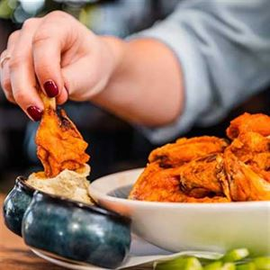 Crispy Buffalo Wings - Chef Recipe by Cody Milhench