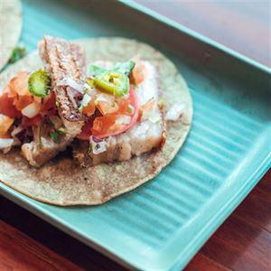 Crispy Pork Belly with Tequila BBQ Sauce - Chef Recipe Tim Christensen
