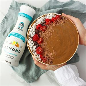 Chocolate Mousse Smoothie Bowl by Jess Sepel