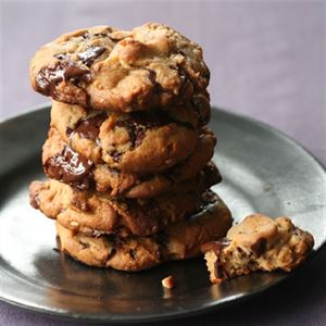 Peanut Butter Biscuits with Chocolate Chunks - Chef Recipe by Curtis Stone