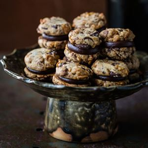 Decadent Chocolate Biscuits - Chef Recipe by Kirsten Tibballs