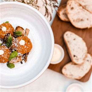 Mushroom Arancini - Chef Recipe by Ian Curley and Scott Alsop