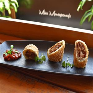 Quail Sausage Roll and Native Bush Chutney - Chef Recipe Gene Quinlan
