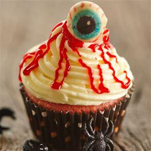 Ghoulish Macadamia Cupcakes