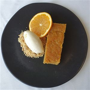 Middle Eastern Orange Syrup Cake - Chef Recipe by Jake Hayes