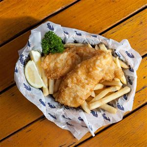 Battered Fish with Homemade Tartar Sauce