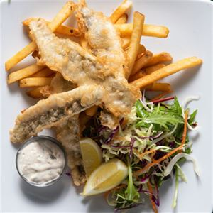Tempura Battered King George Whiting - Chef Recipe by Anton Keyzer