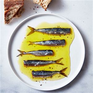 Sardines and Anchovies in Lemon Thyme Oil - Chef Recipe by Josh Niland