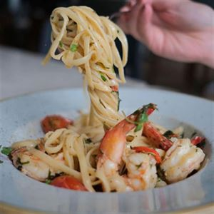 Linguine ai Gamberoni - Chef Recipe by Bobby Singh