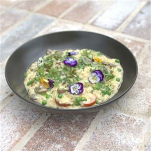 Mushroom Risotto - Chef Recipe by Brett Humphries
