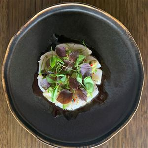 Gummy Shark with Ponzu and Avocado - Chef Recipe by Tom Jack