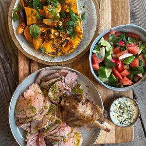 Darren Robertson's Lamb Roast