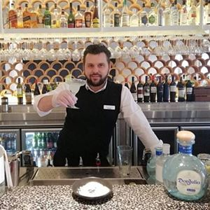 Chios Margarita - by Nostimo Restaurant Bar