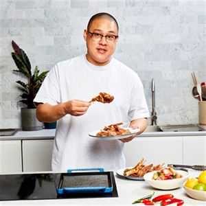 Lamb Dumplings with Sesame Sauce and Chilli Oil - Chef Recipe by Dan Hong