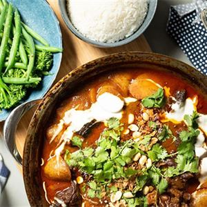Massaman Beef Curry - Chef Recipe by Matt Sinclair