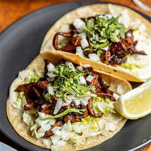 Mushroom Adobo Tacos - Chef Recipe by JC Miranda