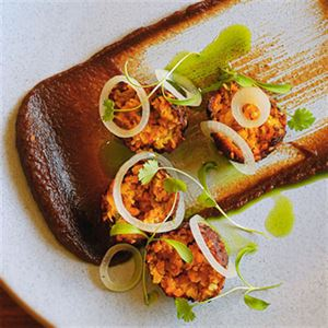 Carrot Falafels - Chef Recipe by Vince Estacio