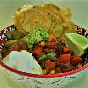 Chilli Bean Nachos - Recipe by Alison Wright