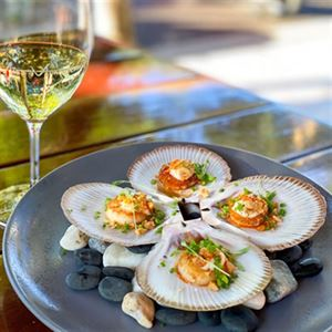 Oven Baked Scallops in the Half Shell - Chef Recipe by Adam Dundas Taylor