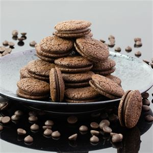 Deliciously Decadent Chocolate Cookie Sandwiches - Chef Recipe by Kirsten Tibballs