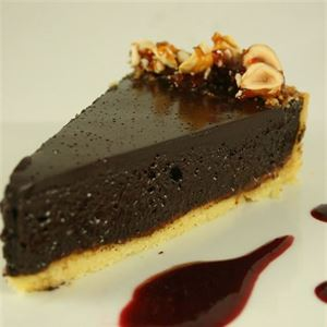 Dark Chocolate Tart - Recipe by My Kitchen Stories