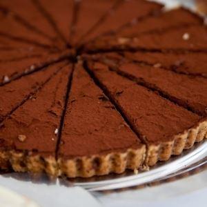 Dark Chocolate Tart - Recipe by My Kitchen Stories