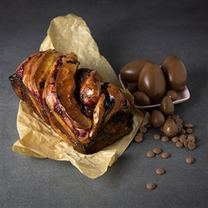 Chocolate and Berry Babka - Chef Recipe by Kirsten Tibballs.
