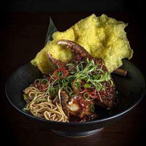 Singapore Chilli and Truffle Mud Crab - Chef Recipe Adam Dundas-Taylor