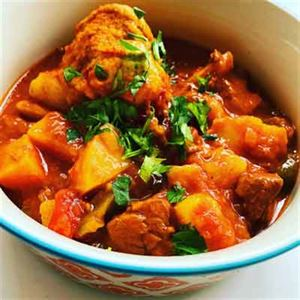 Hungarian Goulash Soup with Root Vegetables and Chive Dumplings - Recipe by Alison Wright