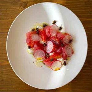 Tonno Agli Agrumi (Tuna with Citrus) - Chef Recipe by Bruno Conti.