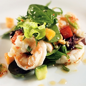 Prawn Salad With Papaya Thai Style