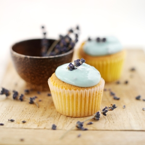 Lavender & Honey Cupcakes