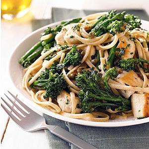 Chicken & Broccolini Aglio e Olio