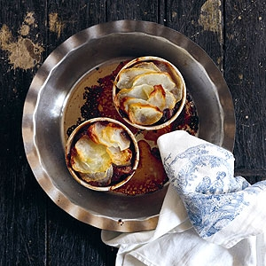 Duck Pie with Spiced Figs