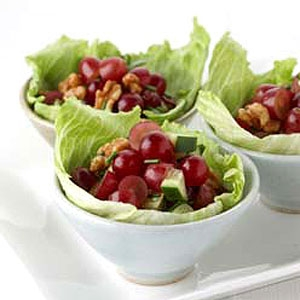 Grape & Walnut Salad Cups