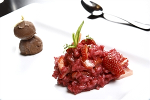 Strawberry Risotto - Chef Recipe by Shawn Sheather